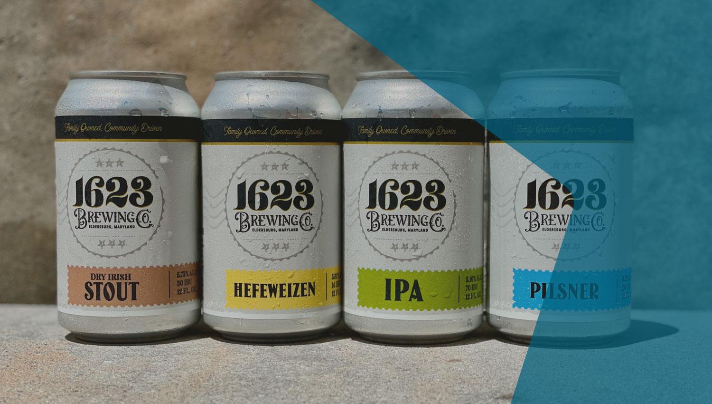 1623 Brewing Core Beers